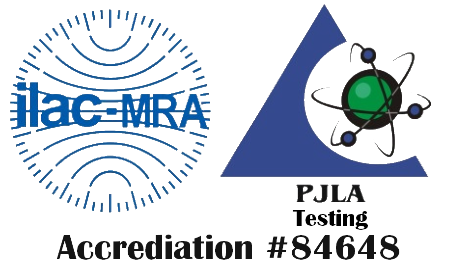PJLA Dod-ELAP Accreditated